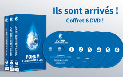 PACK DVD – Forum A la Rencontre de l'Eau